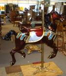 Antique Carousel Horse by Marcus C. Illions and Sons