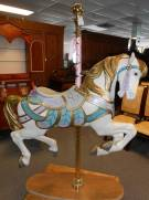 Wonderful painted Carousel Horse