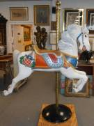 RARE C.W. Parker Carousel Jumper Horse
